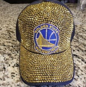 Golden State warriors bling cap